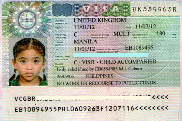 Uk visa travel